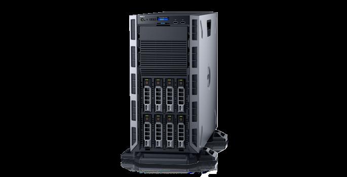 Dell PowerEdge T30 E3-1225 V5 (3,3Ghz), no Mem, no Hard Drive, DVD+/-RW, 1Y  NBD - Dell 210-AKHI-100